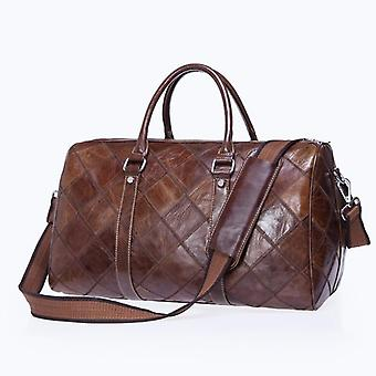 Leather Vintage Weekend Men's Travel Bag