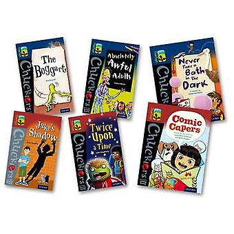 Oxford Reading TreeTops Chucklers Oxford Levels 1415 Pack of 6 tekijältä Dougherty & JohnPowling & ChrisAnderson & LauraBoyden & RobinOBrien & ClaireAsquith & RosBaker & Catherine