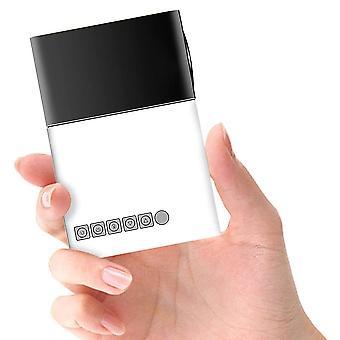 Pico projektor 2021 ny mini projektor farge LED Pico projektor for tegneserie, film, barn gave