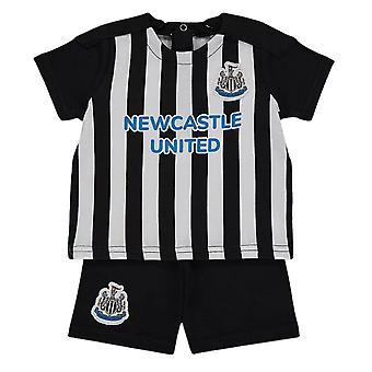 Newcastle United Baby Kit T-Shirt and Shorts Set | 2021