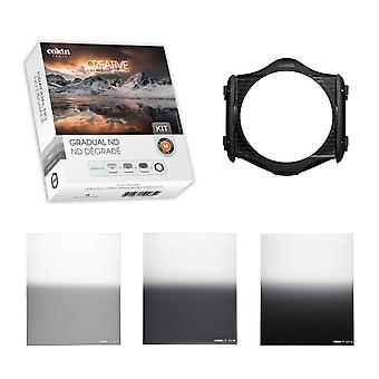 Cokin p series gradual nd filter kit with holder grad nd kit with holder