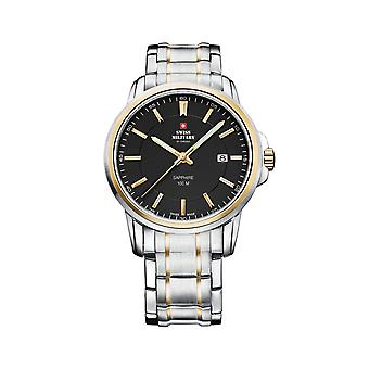 Reloj masculino Militar Suizo Por Chrono SM34039.04, Cuarzo, 40mm, 10ATM