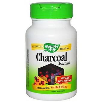 Nature's Way Active Carbon 100 Capsules