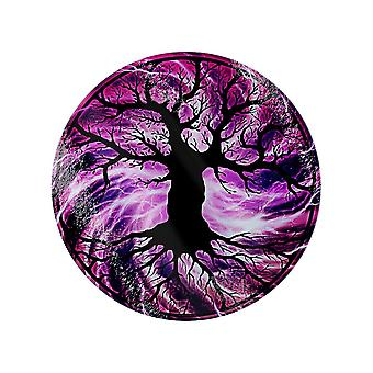Grindstore The Tree Of Life Glass Circular Chopping Board
