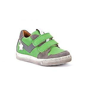 FRODDO Velcro Shoe With Stars In Green