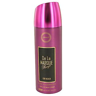 Armaf De La Marque Rouge Body Spray (Alcohol Free) By Armaf 6.7 oz Body Spray