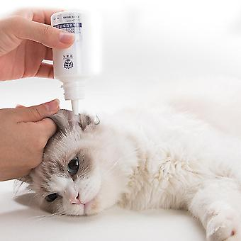 Pet Ear Drops, Eliminate Mites Reduce Inflammation, Relieve Itching For Cat,