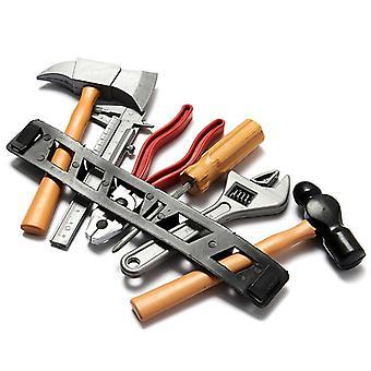 6pcs / набор Воспитание Вид Play Инструмент Туалетный комплект screwdriver Молот Tongers