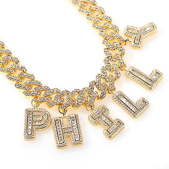 The Bling King Hiphop Diy Statement  S-link Miami Cuban Necklace