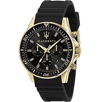 Mens Watch Maserati R8871640001, Quartz, 44mm, 10ATM