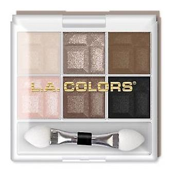 L.A. Colors In the Nude 6 Shadow Palette
