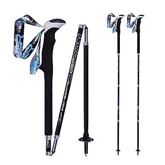 Carbon Fiber - zusammenklappbare Trekking Pole, Quick Lock Folding, Walking Stick