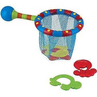 DZK Splash N' Catch Fishing Set Bath Toy, Multi