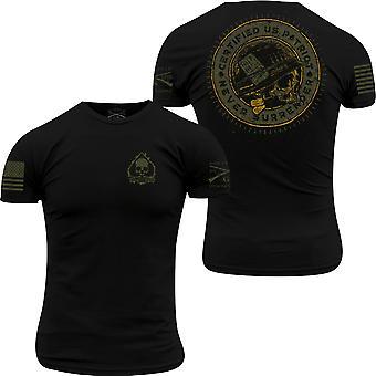 Grunt Style Patriot Seal T-Shirt - schwarz