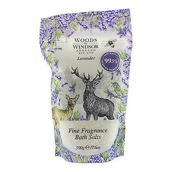 Woods Of Windsor Lavender Fine Fragrance Bath Salt 500g