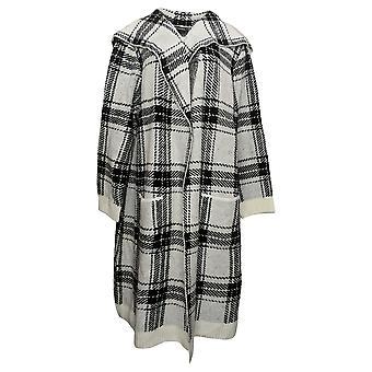 Nina Leonard Women's Sweater Reg Oversized Sweater Knit White 724985