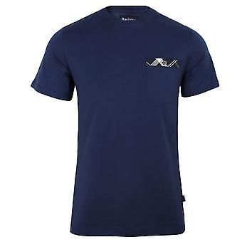 Barbour mens regal blue bryce t-shirt