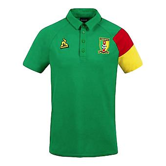 2021-2022 Cameroon Presentation Polo Shirt (Green)