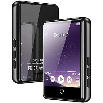 """FengChun MP3 Player, Bluetooth 5.0 Mp3 Player 2.4"""" LCD Touchscreen Vollmetallkörper 16G Musikplayer"""