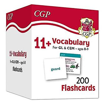 New 11+ Vocabulary Flashcards - Ages 8-9
