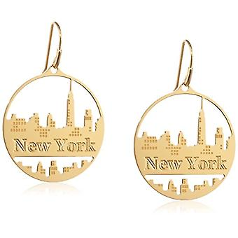 Misis OR08448 Earrings, Silver 925, Gold