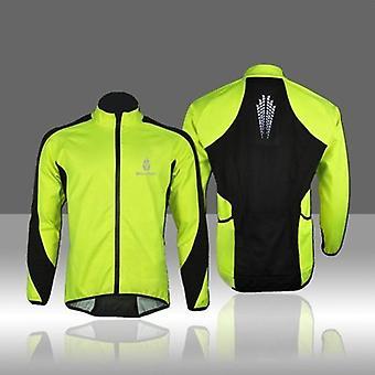 WOLFBIKE Fleece Thermal Cycling Dres s dlouhým rukávem Zimní venkovní sportovní bunda Větruodolný větrný kabát Cyklistický cyklus Oblečení 3XL