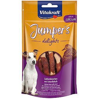 Vitakraft Jumpers Delights Duck and Calcium (Dogs , Treats , Light Treats)