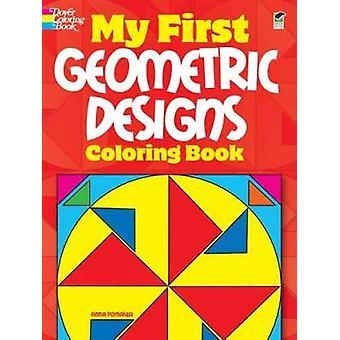 Moja pierwsza geometryczna kolorowanka wzorów Anna Pomaska
