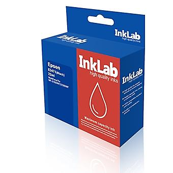 InkLab 34 XL Epson Compatible Black Replacment Ink