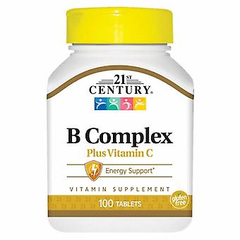 21. århundre VIT B COMPLEX W/C, 100 antall