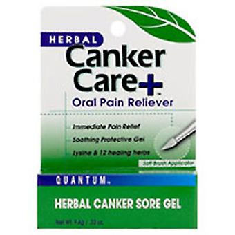 Quantum Health Cankercare+ Oral Gel Pain Reliever, Care+ Gel 0.33 Oz