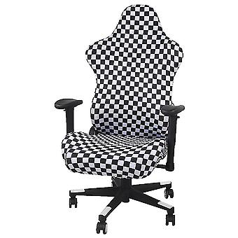 White and black 85x61cm and 57x57cm gaming chair cover back cover/cushion cover/armrest homi3614