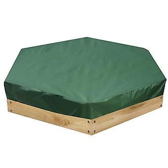 Children's Toy Sandbox Cover, Dustproof And Waterproof Hexagonal Sand Pit Cover, With Drawstring, 210d Oxford Cloth