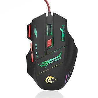 Seven-button Illuminated Gaming Mouse