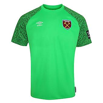 2021-2022 West Ham Goalkeeper Home Shirt (Kids)