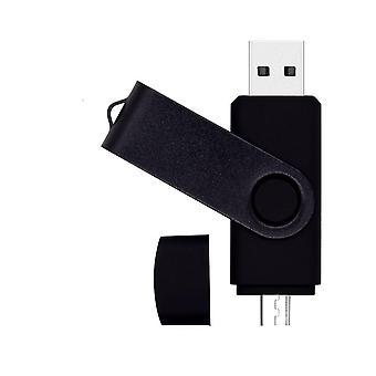 Aangepaste logo metalen USB Flash Drive Memorias Usb Creativas Sticks USB Flash Drive 16GB OTG Usb 2.0