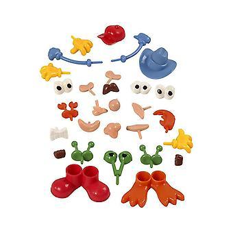 26 valikoitu ruumiin osat pehmeä & Itsekovettuva savi lapsille mallinnus käsi työt