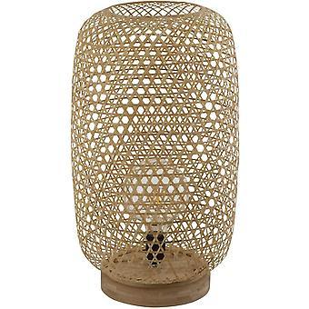 Grzywny Asianliving Bambus Taśmy Lampa Stołowa Sanako W28xD21xH59cm