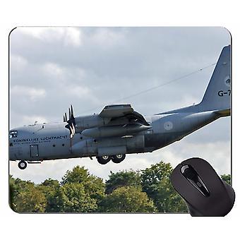 (300X250X3) Almohadilla de ratón de caucho natural, avión de transporte avión militar base de caucho antideslizante