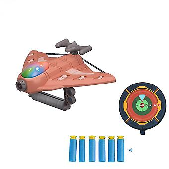 Bubble Catapult Plane Toy Airplane Outdoor Toys One-click Ejection Model