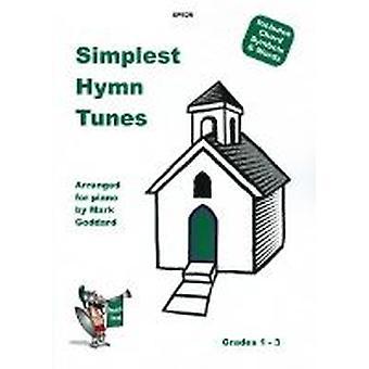 Enklaste psalmlåtar (anonyma, bach, goss, händel, hattton, munk, parry, prichar