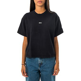 T-shirt donna obey tag customs crop tee 267621986.obk
