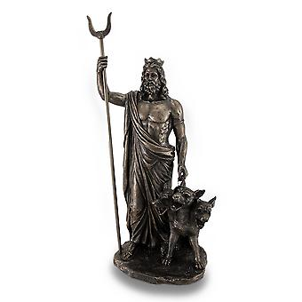 Greek God Of The Underworld Hades Bronze Finished Statue