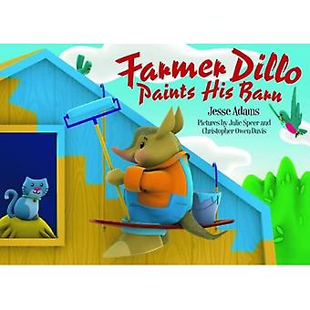 L'agriculteur Dillo peint sa grange