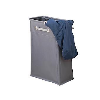 Computer racks mounts dirty clothes receiving box bundle oxford foldable clothes basket - dark grey grey 40x20x55cm
