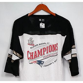 NFL Top Super Bowl 51 New England Patriots 3/4 Sleeve White