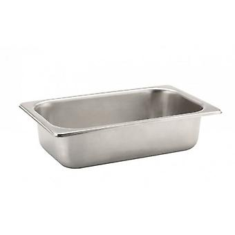 4 liter 150mm dybe Gastronorm containere rustfrit stål 1/4 til salater saucer