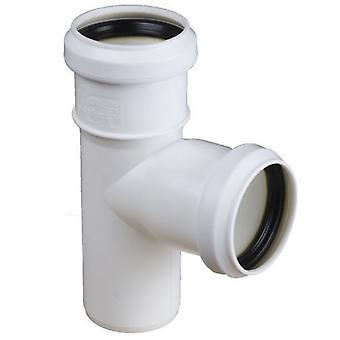 Avloppsvatten Installation t-koppling gemensamma olika Pipe diametrar och vinklar