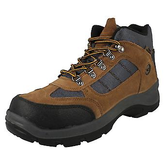 Mens Hi-Tec Safehike Mid Safety Boots