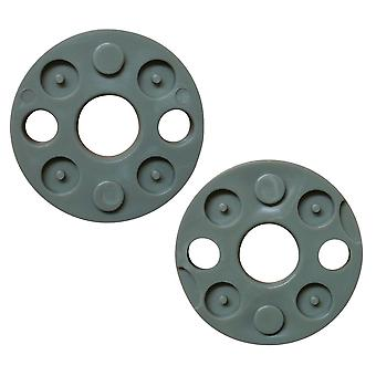 2 x Blade Spacers Fits Flymo Turbolite 330 350 400 FLY017 FL182